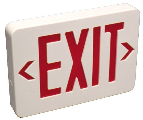 POWER-FREE SELF-ILLUMINATED EXIT SIGN