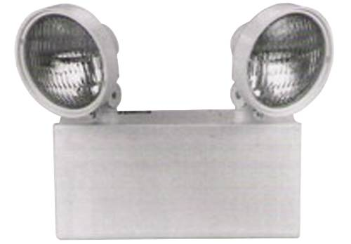 EMERGENCY LIGHT 2 HEAD STEEL 12V 100 WATT