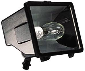 OUTDOOR MINIFLOOD WALL FIXTURE, QUAD 28