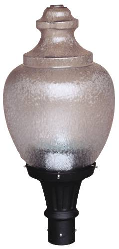 HERITAGE POST ACORN LIGHT 150 HPS BRONZE