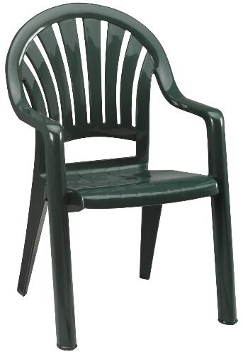 PACIFIC FANBACK CHAIR AM GREEN