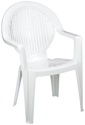 FIDJI CLUB ARMCHAIR WHITE