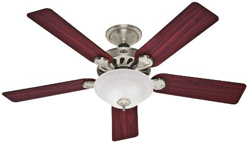 CEILING FAN 5 MIN BRUSHED NICKEL 52""