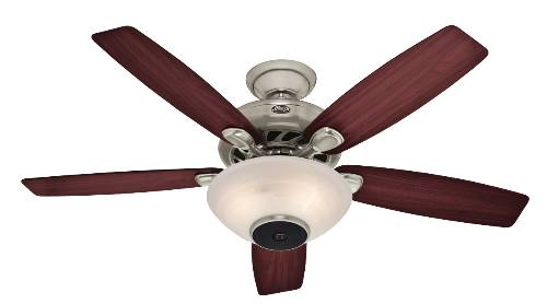 CEILING SPEAKER FAN BR NICKEL 52""