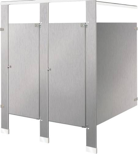 TWO IN-CORNER COMPARTMENTS