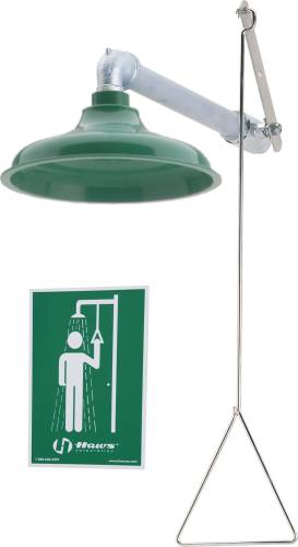 HORIZONTAL SUPPLY DRENCH SHOWER