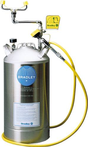 PORTABLE PRESSURIZED EYE WASH 15 GAL