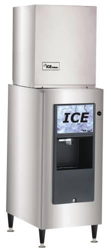 ICEMAKER WITH DISPENSER 320/LB/DAY