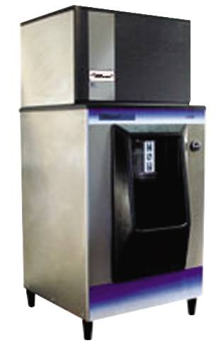 ICEMAKER WITH DISPENSER 366/LB/DAY