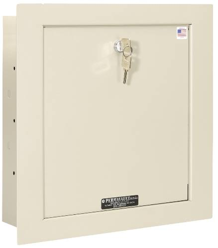 SMALL IN WALL SAFE, 15-3/4 IN. X 15-3/4 IN. X 3-1/2 IN.