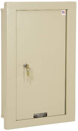 LARGE IN WALL SAFE, 20 IN. X 14 IN. X 6 IN.