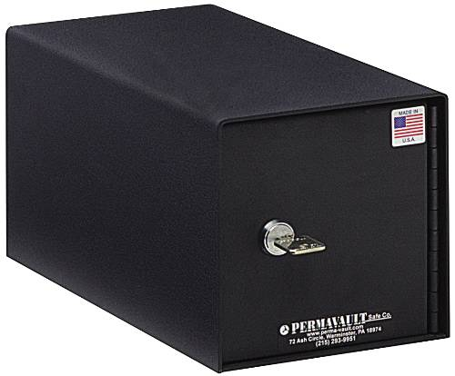STACKABLE SAFE DEPOSIT BOX, 6 IN. X 6 IN. X 11-1/2 IN.