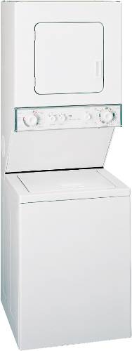 GE ELECTRIC UNITIZED WASHER/DRYER WHITE