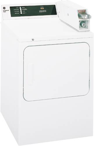 GE DRYER ELECTRIC COIN OPERATED WHITE