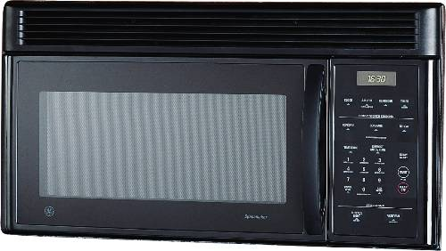 GE MICROWAVE OVEN BLACK