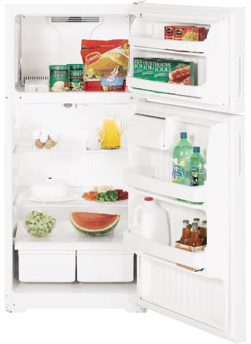 GE 15.5 CU FT ENERGY STAR® TOP FREEZER REFRIGERATOR BISQUE