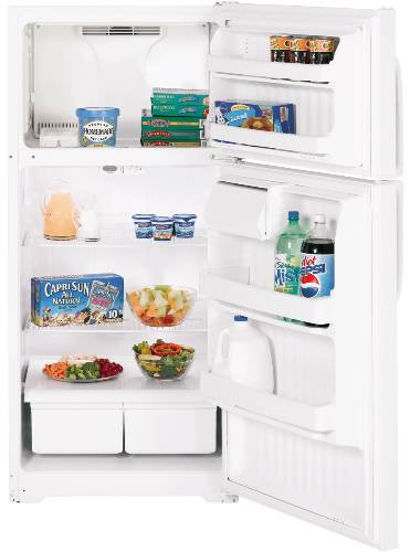 GE 16.5 CU FT ENERGY STAR® TOP FREEZER REFRIGERATOR WHITE