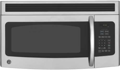 GE SPACEMAKER MICROWAVE OVEN 1.4 CU. FT. STAINLESS STEEL