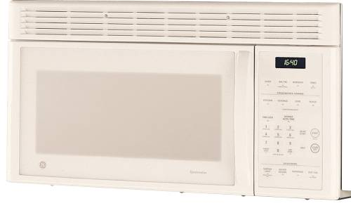 Ge Microwave Oven Over The Range White