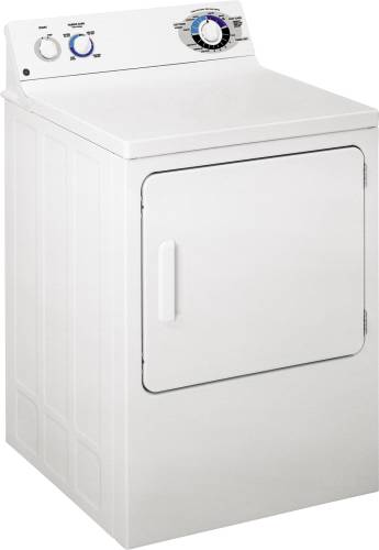 GE ELECTRIC DRYER WHITE