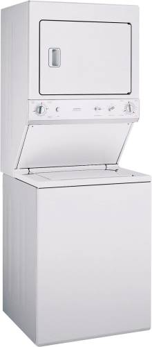 GE 27 IN. UNITIZED WASHER/GAS DRYER