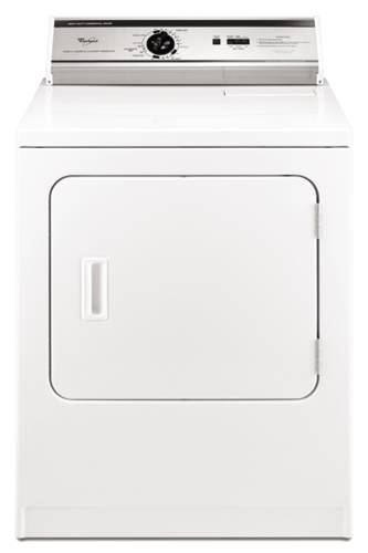WHIRLPOOL COMMERCIAL DRYER ELECTRIC WHITE