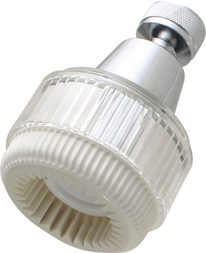 PREMIER SHOWER HEAD CHROME/WHITE 1.5 GPM