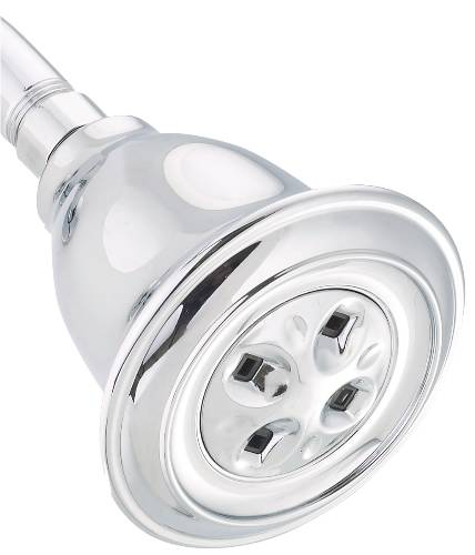 DELTA WATER AMPLIFYING SHOWER HEAD WITH WATER SAVING 1.5 GPM, CH