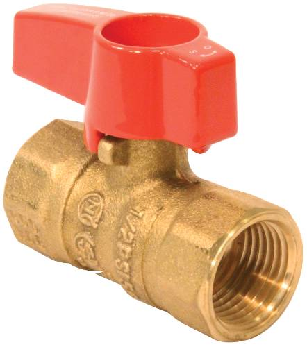 TEE HANDLE GAS VALVE 1/2 IN. 5 PSI