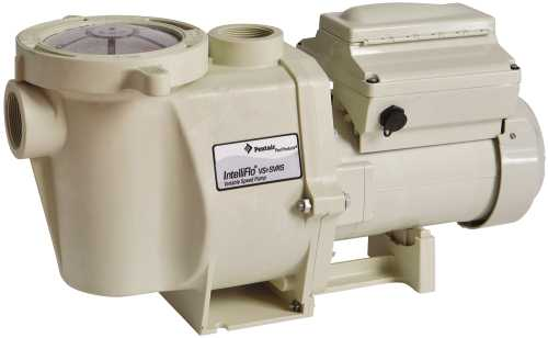 INTELLIFLO VARIABLE SPEED POOL PUMP WITH BUILT-IN SVRS