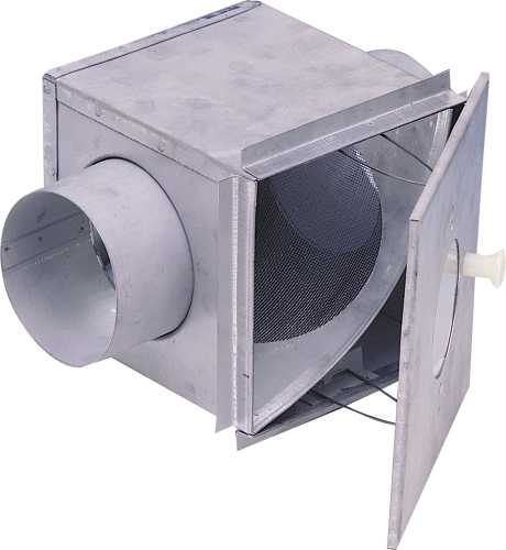 LINT TRAP, 4 IN. DUCT