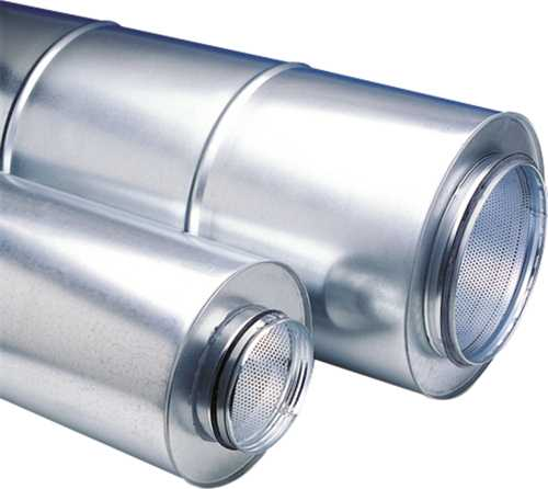 SILENCER, 4 IN. DUCT