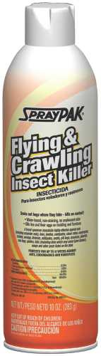 INSECT KILLER, FLYING & CRAWLING 10OZ