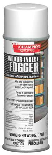 CHAMPION INDOOR INSECT FOGGER 6OZ