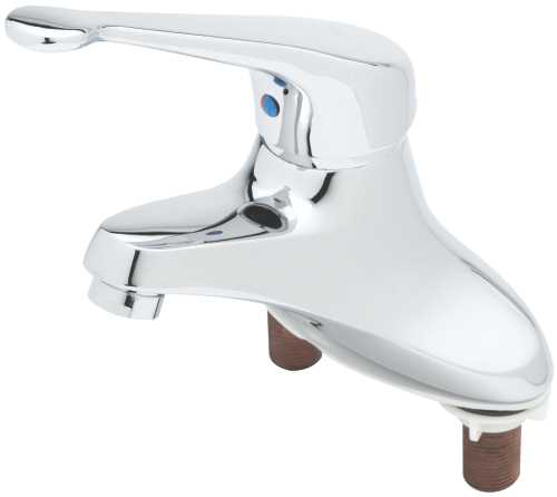 T & S BRASS WORKS SINGLE LEVER 4 IN. CENTERSET FAUCET WITH TEMPE