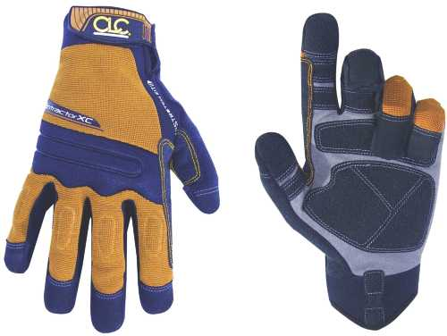 CLC FLEXGRIP® CONTRACTOR™ HIGH DEXTERITY WORK GLOVES WITH XTRAC