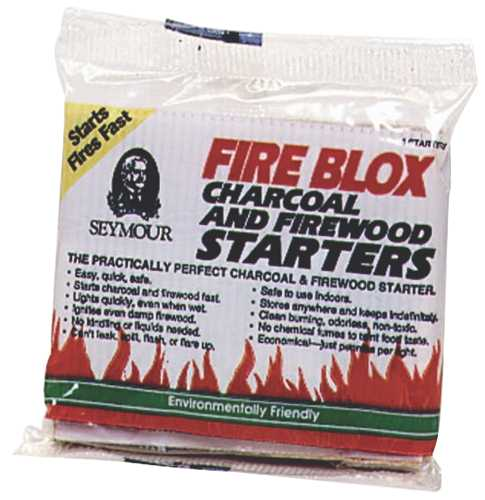 FIRE BLOX CHARCOAL AND FIREWOOD 144/CS
