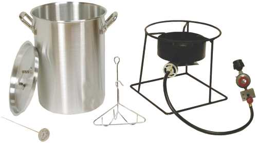 ALUMINUM PROPANE TURKEY FRYER, 29 QUART
