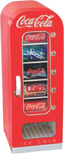 COCA COLA RETRO VENDING FRIDGE 10 CAN