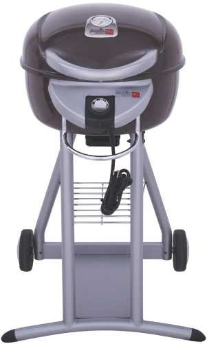 PATIO BISTRO® ELECTRIC TRU-INFRARED GRILL, CHOCOLATE