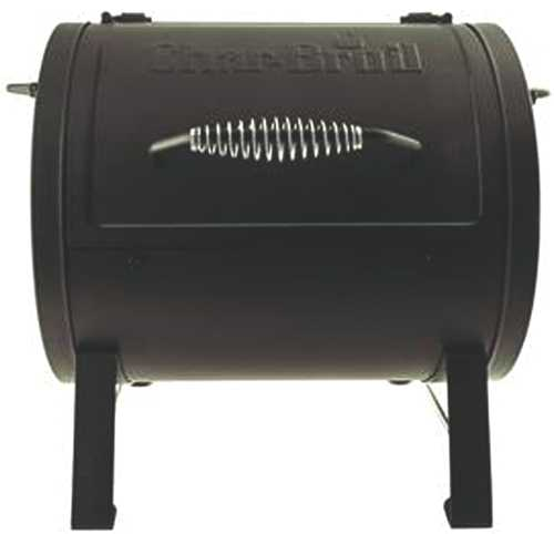 CHARCOAL TABLETOP GRILL / OFFSET SMOKER CHAMBER