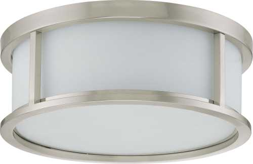 DUPONT 1 LIGHT VANITY WITH SATIN WHITE GLASS 13W GU24, LAMP INCL