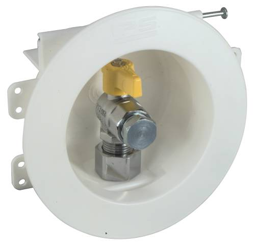 GAS OUTLET BOX 1/2 IN. IPS