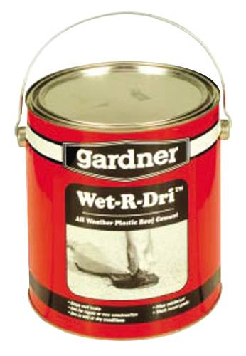WET/DRY ROOF CEMENT 1 GALLON