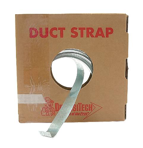 GALVANIZED DUCT HANGING STRAP 1 IN X 100 FT