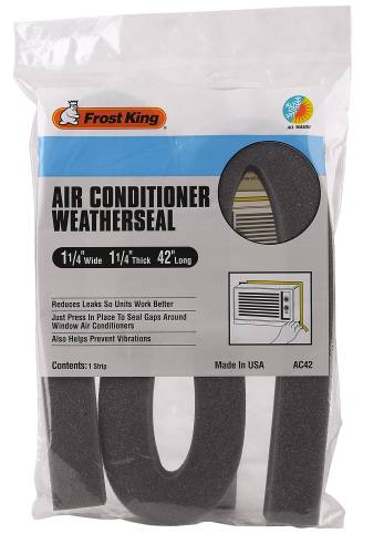 FROST KING® AC FOAM WEATHERSTRIP