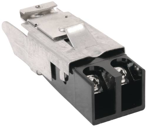 TERMINAL BLOCK FOR SURFACE ELEMENTS SCREW CONNECTION