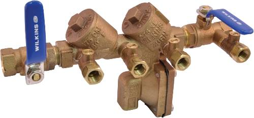 "1/2"" REDUCED PRESSURE PRINCIPLE BACKFLOW LEAD FREE"