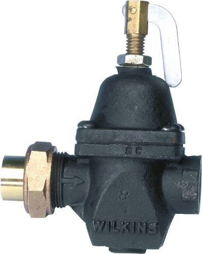 "WILKINS WATER PRESSURE REDUCING VALVE 2/4"" SWEAT"