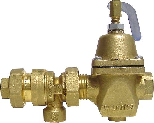 BACKFLOW PREVENTER FILL VALVE WITH ATMOSPHERIC BREAKER